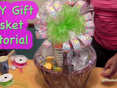 How to Make a Beautiful Gift Basket - Giftbasketappeal