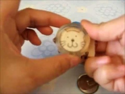How to make a covered button hair clip