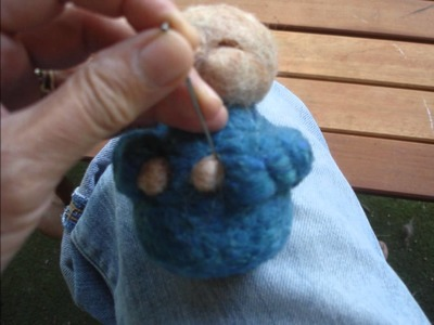 How to make a Needle Felted Gnome