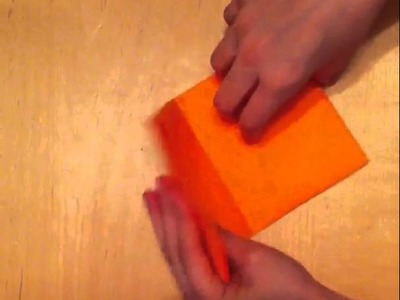 How to make a paper pouch with only paper and scissors