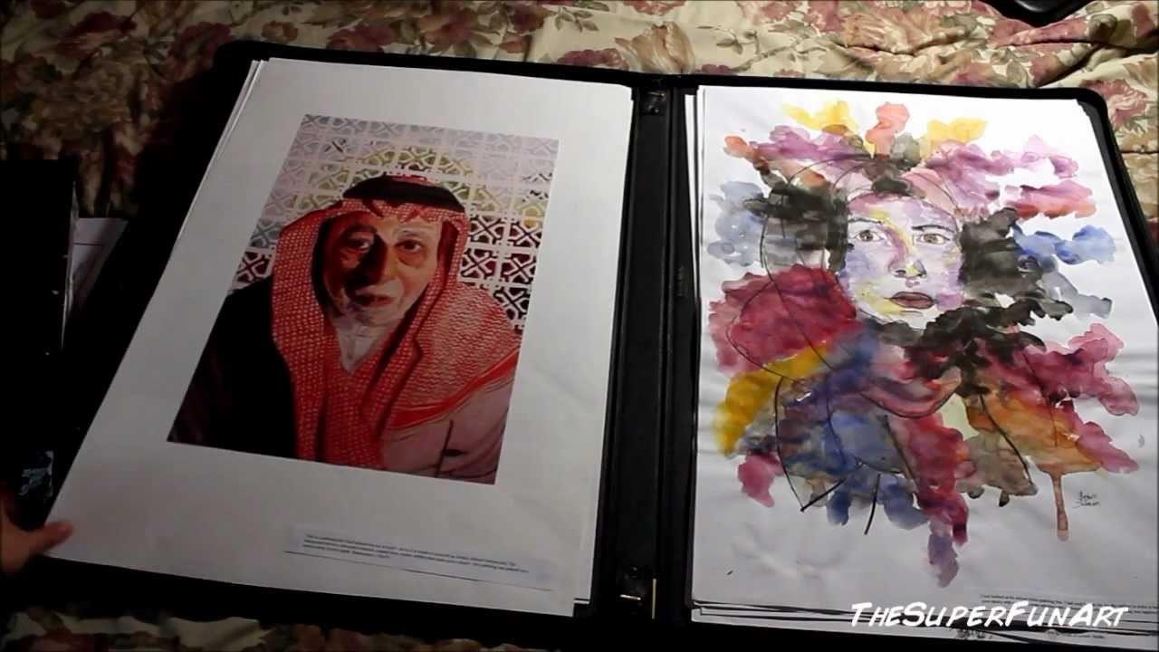 How to make a portfolio for University (foundation art and product design)
