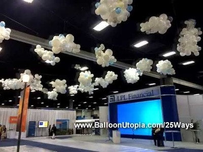 How To Make Balloon Clouds?
