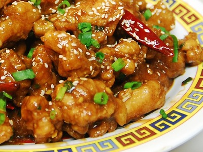 How to Make Hot & Spicy General Tso's Chicken - Chinese Cooking