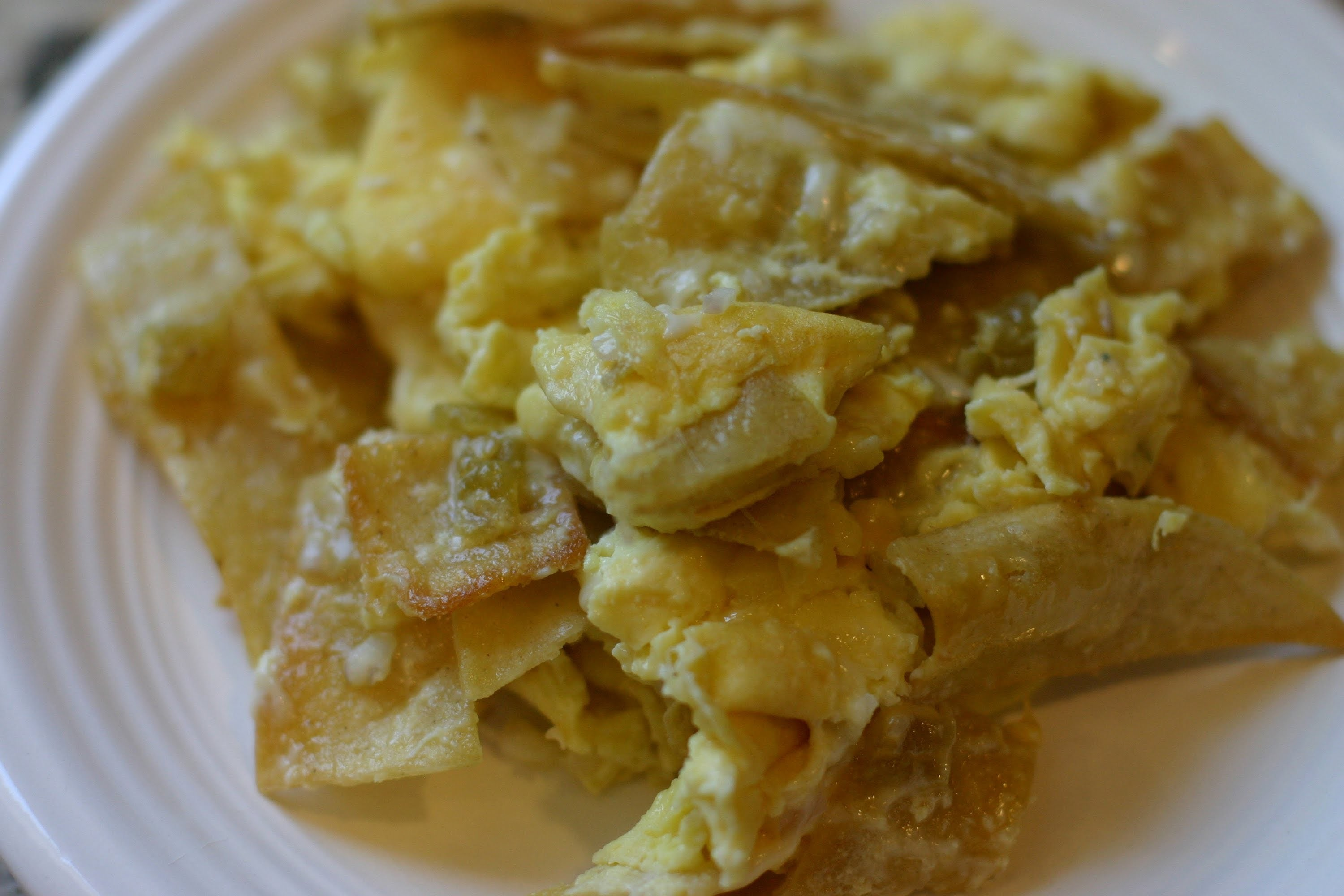 How To Make Migas - Mexican Eggs and Tortillas by Rockin Robin