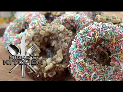 HOW TO MAKE NUTELLA DONUTS