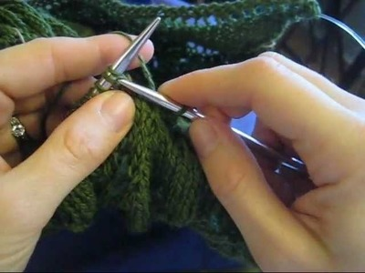 How to: Stretchy Bind Off (K1, K2tog-tbl)