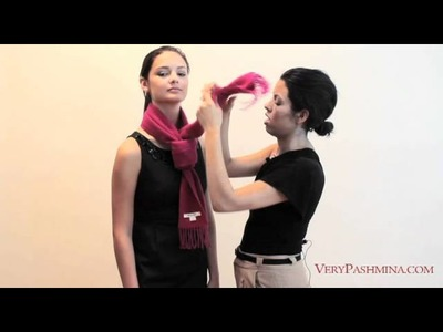 How To Tie A Scarf - 10 Stylist Suggestions