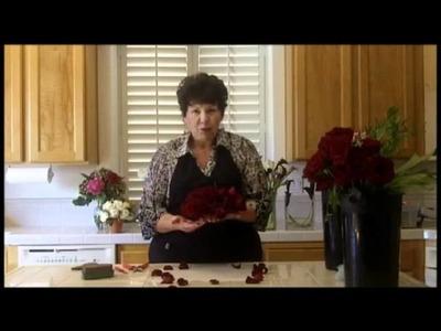 Http:.flowerarranging101.tv - Flower Arranging Class-Heart Shaped Roses