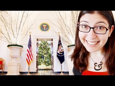 I want to help decorate the White House for Christmas!