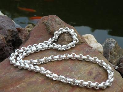 Jewellery making belcher chain