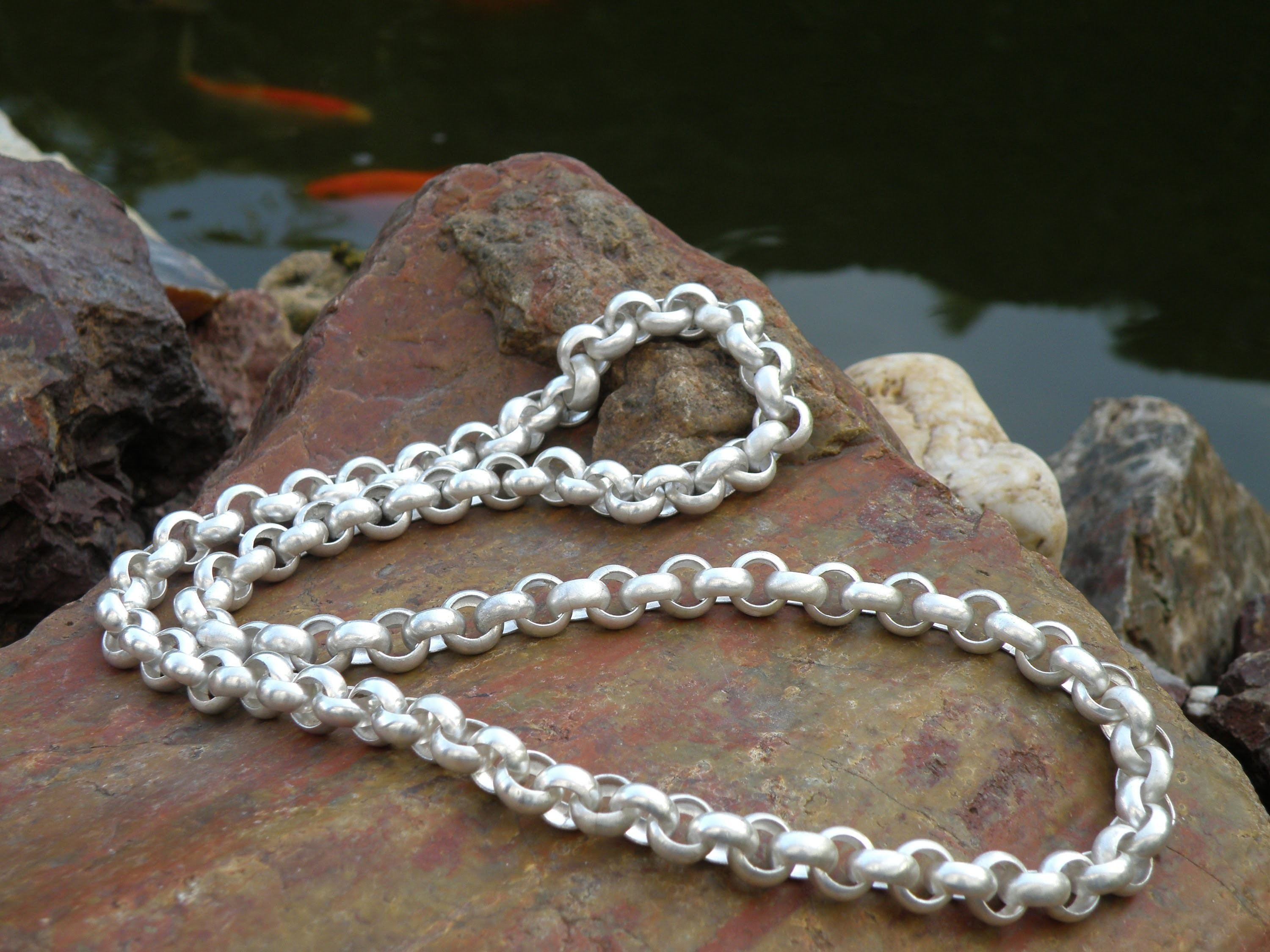 Jewellery making belcher chain