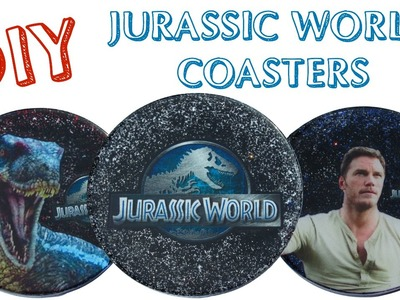 Jurassic World Coasters DIY   Another Coaster Friday Craft Klatch