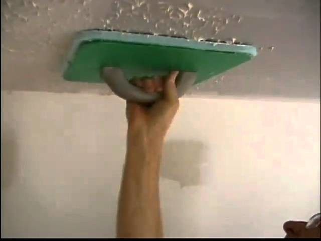 Magic Mudder How-to #1 - Ceiling Texture