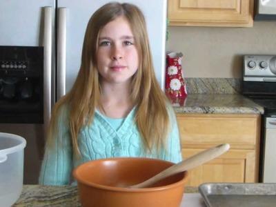 Making Whole Wheat Peanut Butter Dog Treats by Samantha Potter