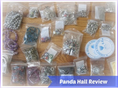 Panda Hall Jewerly Haul. Review for Panda Hall Website and Products
