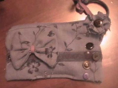 Re Silk Chiffon Flower Hand Bag Inspired By BluGirl HandBag
