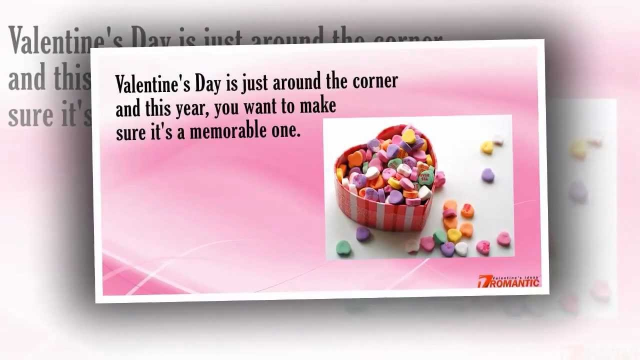 Romantic Valentines Day Ideas - Romantic Ideas for Valentines Day
