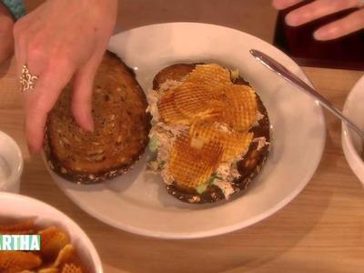 Susie Essman's Sandwich-Making Secret ⎢Martha Stewart