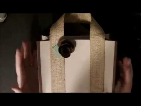Thirty One Bag using Designer Series Paper and Spiral Flower Die with Deb Valder