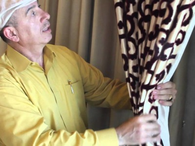 Video #4: How to Install Drapes in Bay Windows | Bay Window Treatment Ideas | Custom Curtain Design