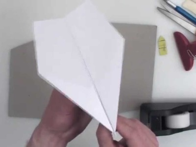 how to make a paper airplane that flies 10000 feet