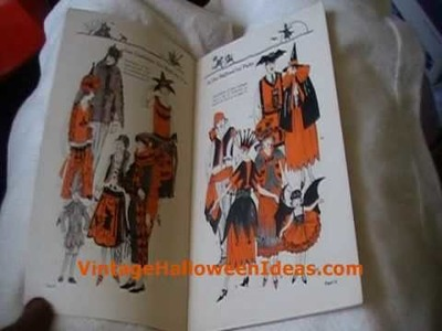 1923 Dennison's Bogie Book - Vintage Halloween, Halloween Collectibles, Halloween Decorations