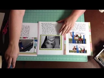 #40, #41, #42 Speed Scrapbooking: Scrapbook Process Videos: One Concept. Three Scrapbook Layouts