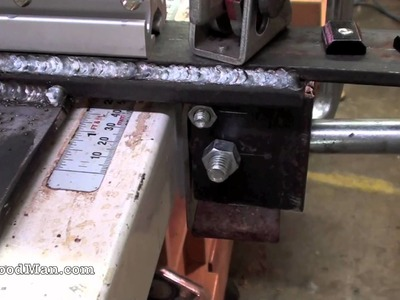 8 of 9: How To Build A T-Square Table Saw Fence | Woodwork Projects