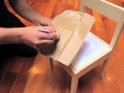 Build and customize children's chairs and table from IKEA - short version