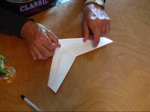 Building the OmniWing Paper Airplane