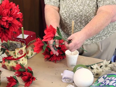 Christmas Topiary Craft Instructions : Holiday Crafts & Decorations