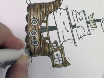 Copic In The Craft Room: Coloring Wood