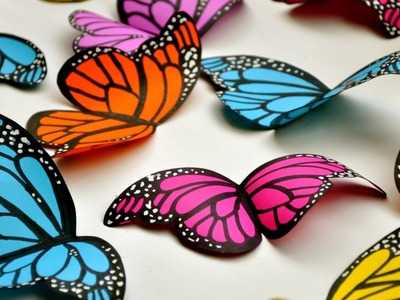 Create Simple and Beautiful Paper Butterflies - DIY Crafts - Guidecentral