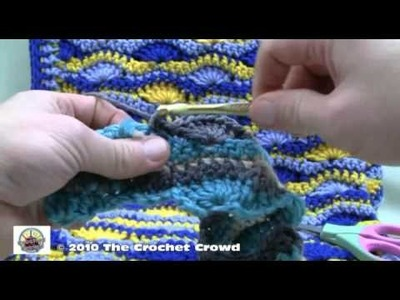Crochet A Blanket - Starting and Finishing Part 3