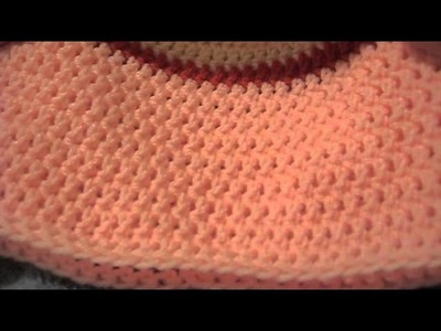 Crochet Sock Monkey Hat Tutorial Left Handed Part 2