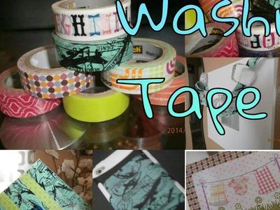 DIY: 5 Washi Tape Crafts
