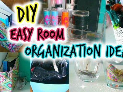 DIY: Easy Room Organization Ideas! ♡