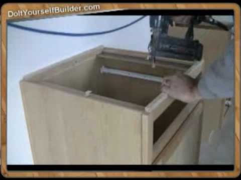 """DIY-""""How To Install Cabinets"""" Sample 4 of 6 """"Prep For Counter Tops"""""""""""