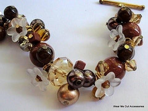 DIY: How to Make Elegant Cluster Bracelet Tutorial