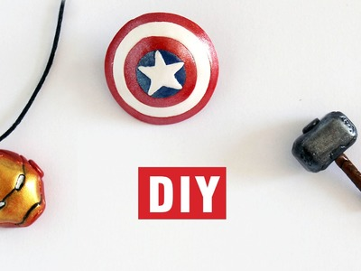 DIY Iron Man's Head, Thor's Hammer and Captain America's Shield