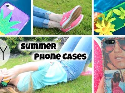 DIY Summer Phone Cases