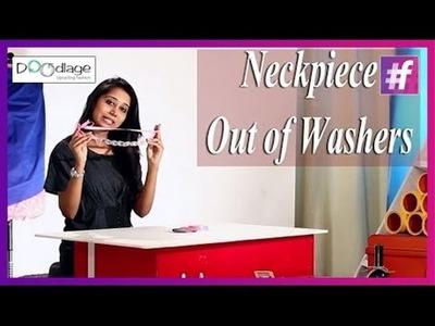 DIY : This Diwali Make Your Own Statement Neckpiece Using Washers