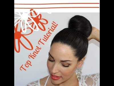 DIY Top Knot Bun Hair Tutorial! (Talk Through)
