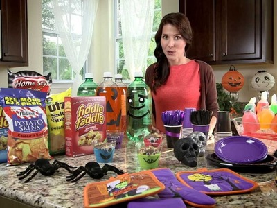 Dollar Tree Halloween Craft Idea - Soda Bottle Boo Buddies