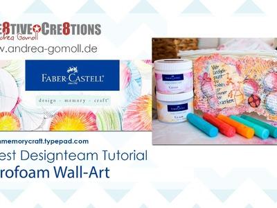 【Faber Castell - Design Memory Craft】 Guest Designteam Project #2 - fun Wall-Art