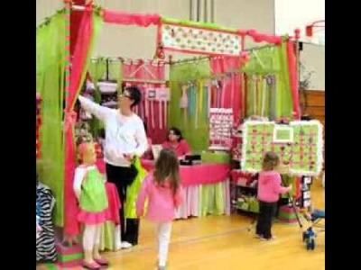 Easy DIY Craft show booth ideas