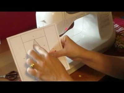 Gift Giving Series: How to Paper Piece + Free Christmas Tree Pattern