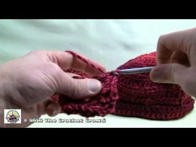 How To Crochet a Baby Hat Part 1 of 2