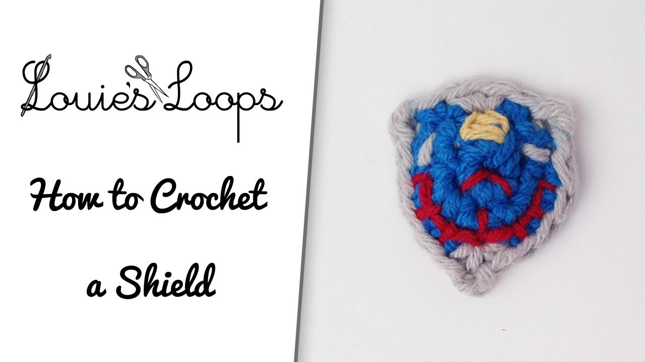 How to Crochet a Shield