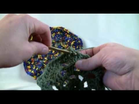 How To Crochet Octagon Granny Afghan - LH 2 of 3